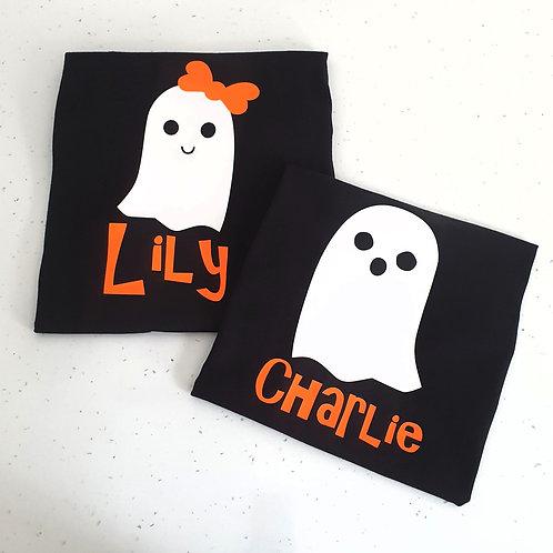 Ghost Halloween T-Shirts