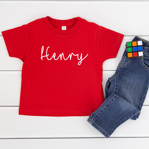 Personalised Kids T-Shirt More Colours