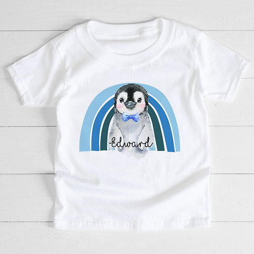 Personalised Penguin T-Shirt