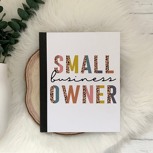 Small Business Owner Notebook
