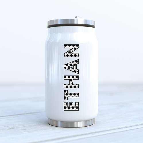 Personalised Football Cola Can Drinks Bottle