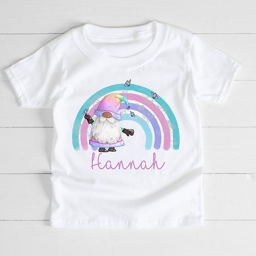Rainbow Gnome T-Shirt / Baby Bodysuit