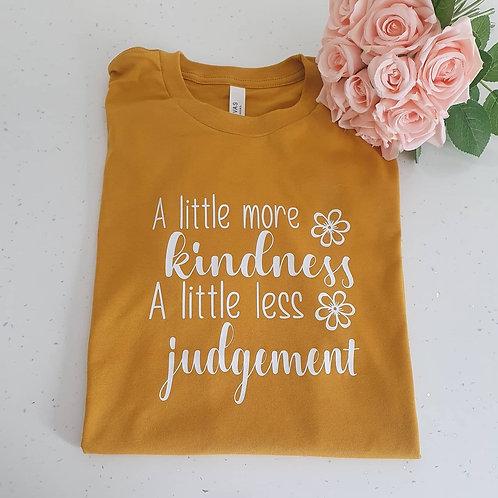 A Little More Kindness Unisex Fit T-Shirt
