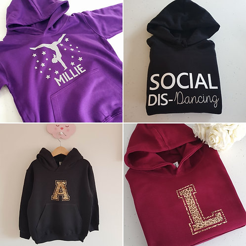 Girls Hoodies Choice Of Colours And Designs