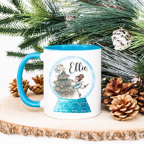 Personalised Snowglobe Mug