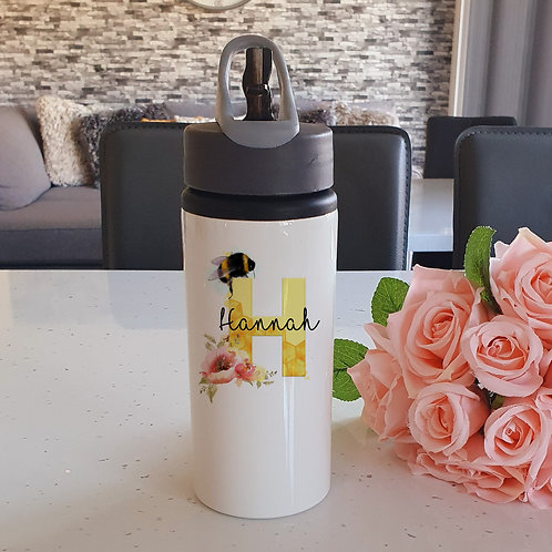 Personalised Bee Water Bottle