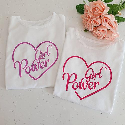 Girl Power T-Shirt - More Colours