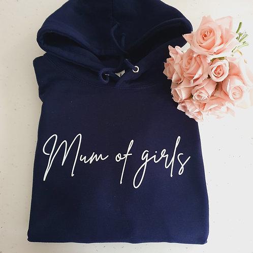 Mum Of Girls Hoodie