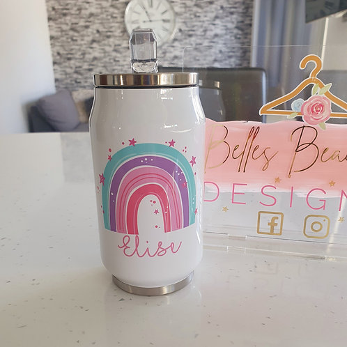 Personalised Rainbow Cooler Can