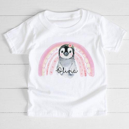 Personalised Penguin T-Shirt
