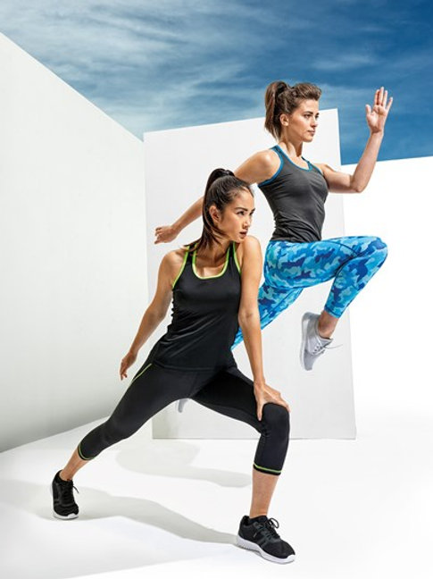 Switch To A Ladies Fitted Fitness Vest
