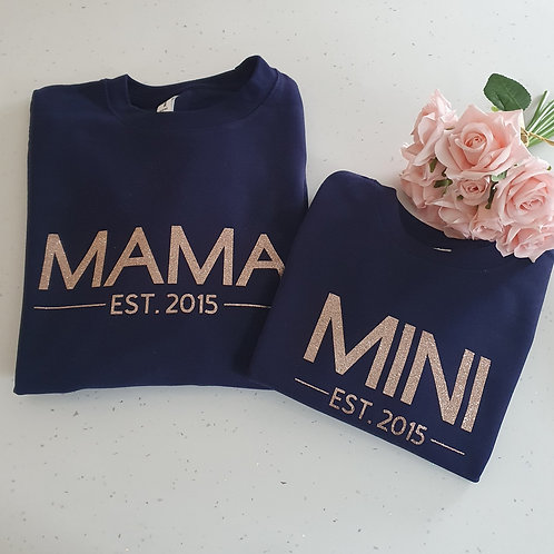 Mama Mini Est. Sweater