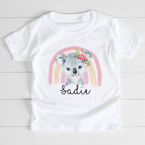 Personalised Koala T-Shirt