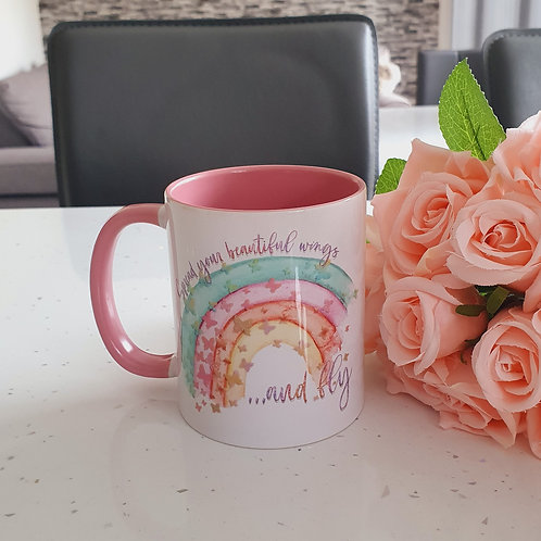 Spread Your Beautiful Wings And Fly Mug