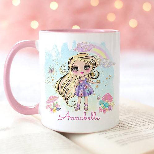 Girl Character Mug