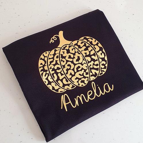 Personalised Pumpkin T-Shirt