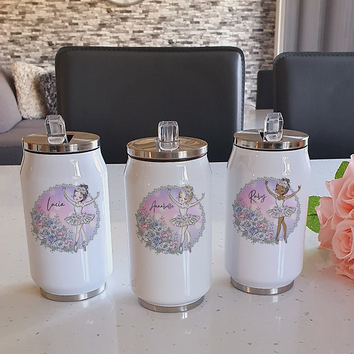Personalised Ballerina Cooler Can