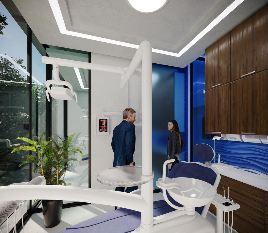 Interiores de clínicas. Ambar Consultores Arquitectos