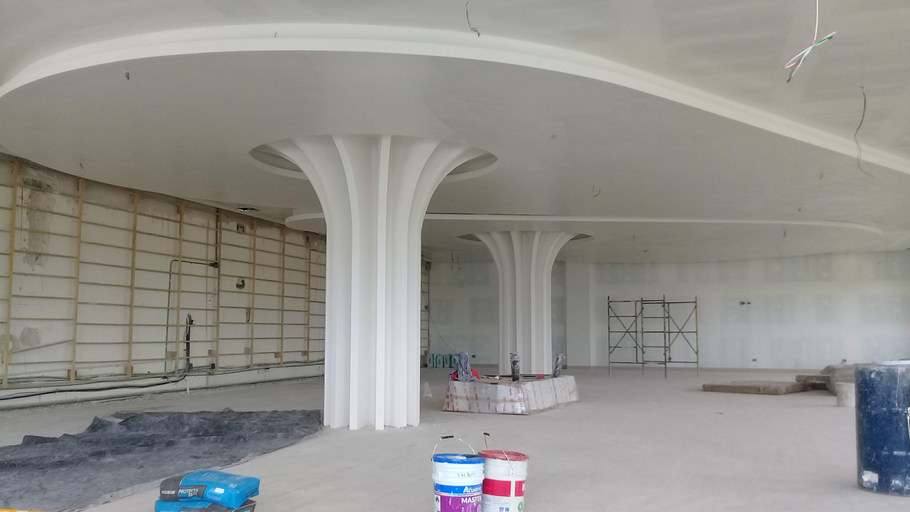 Interiores HM Lounge. Ambar Consultores Arquitectos Cancún