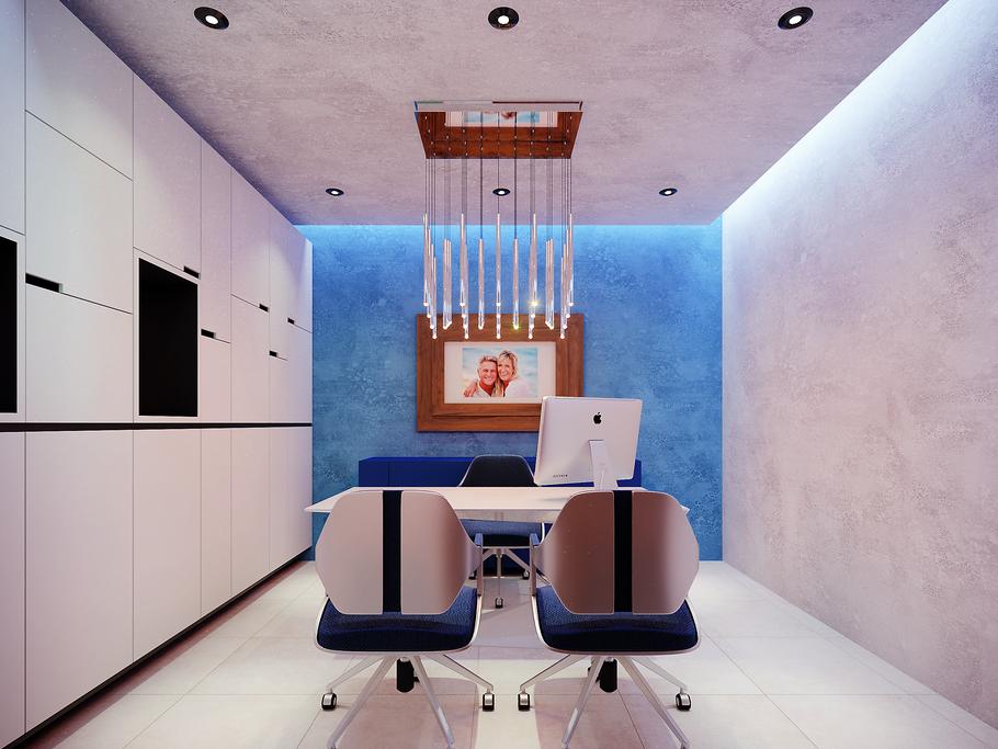 Interiores para la salud. Ambar Consultores Arquitectos