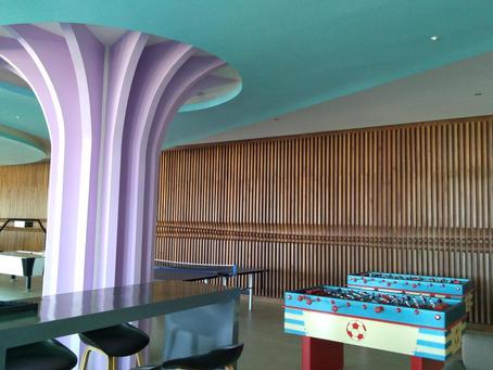 diseño de interiores esparcimiento