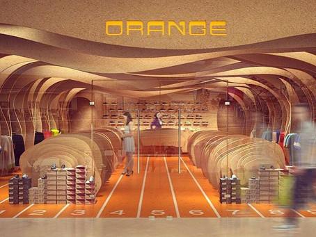 Naranja es el nuevo color para el deporte