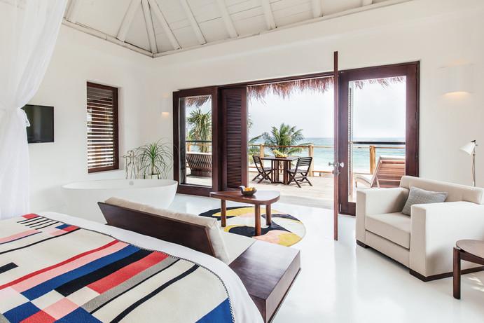hoteles eclécticos minimalistas
