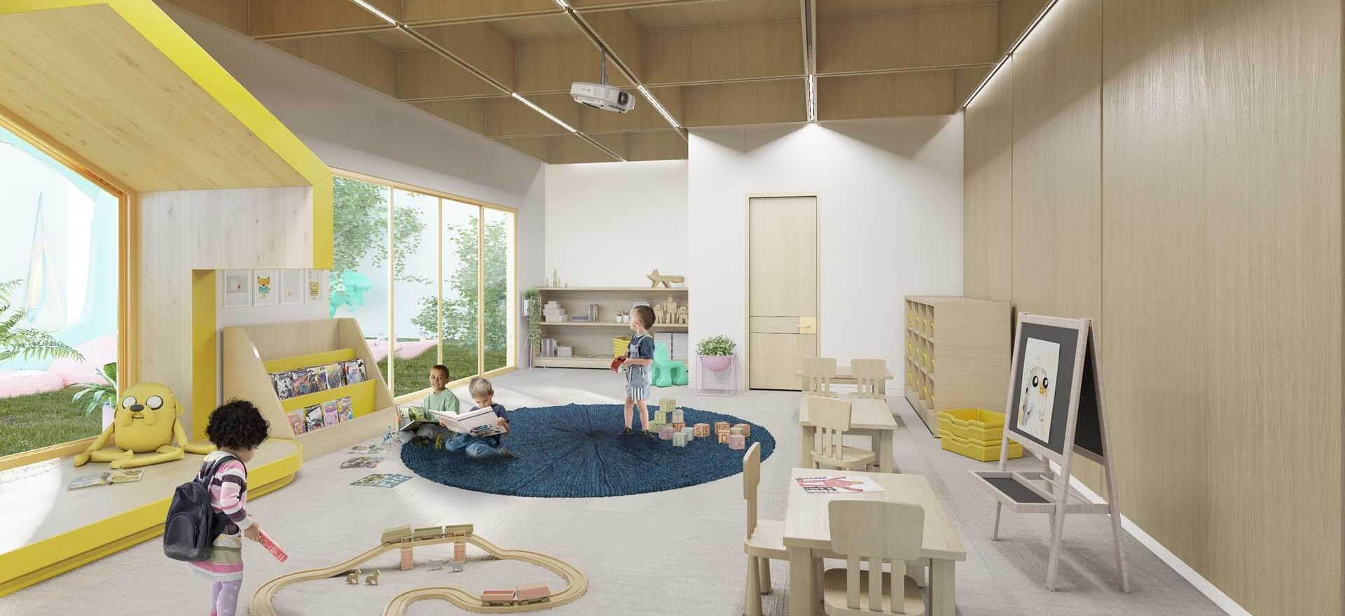 Proyecto de diseño y construcción de interiores