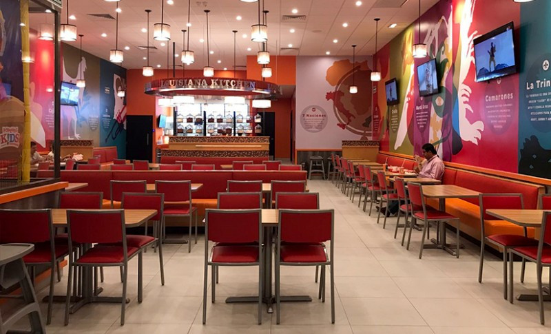 Popeyes Lousiana Kitchen MexicoPopeyes Mexico. Ambar Consultores Arquitectos Cancun