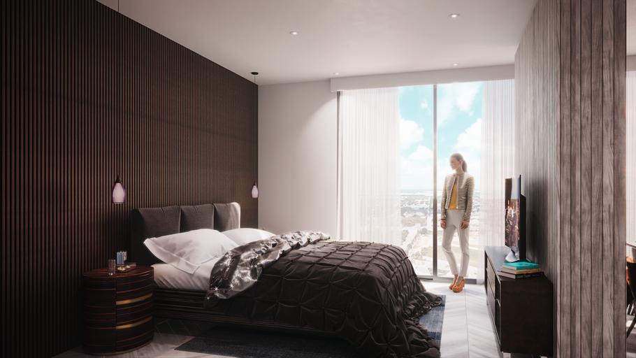 interiores residenciales en Cancun. Ambar Consultores Arquitectos