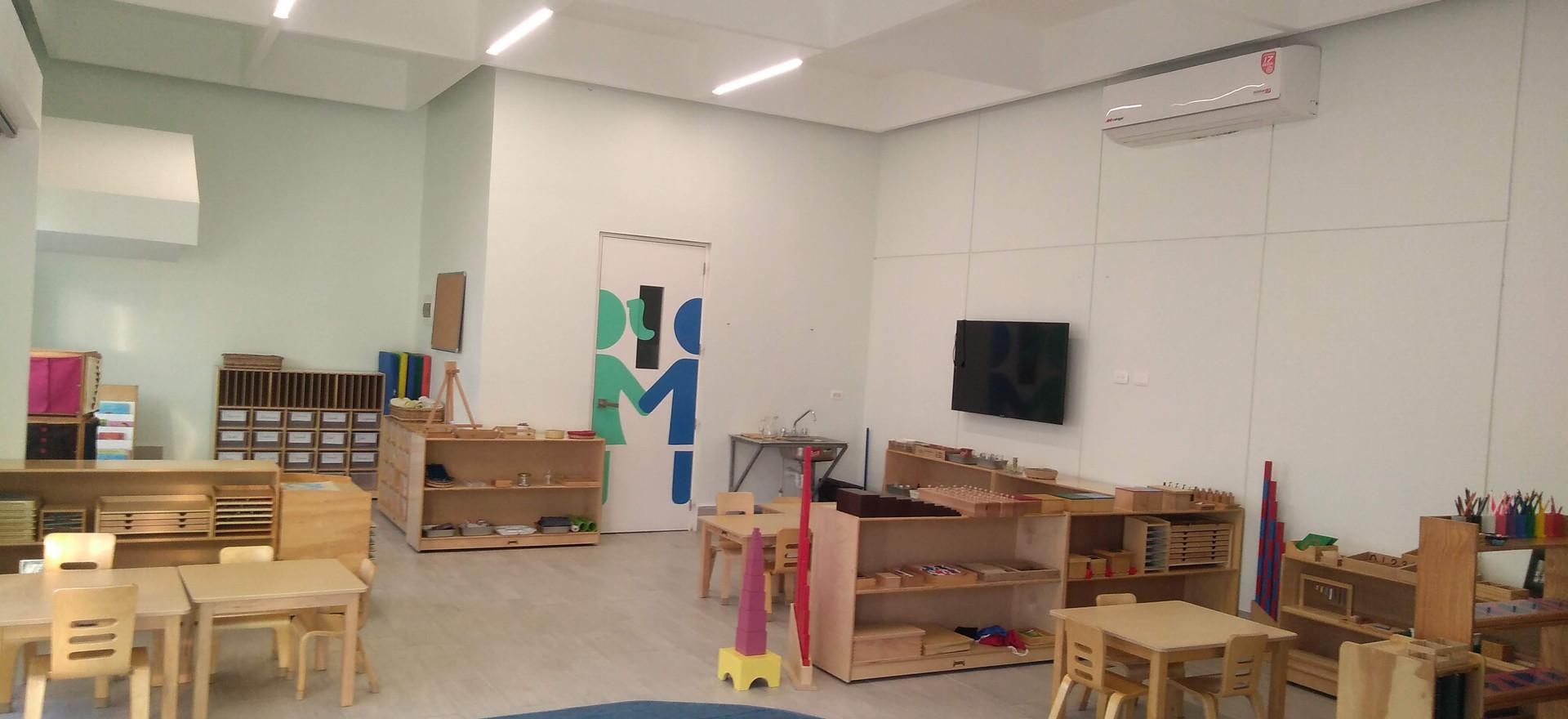 Diseño de interiores de escuelas. Ambar Consultores Arquitectos
