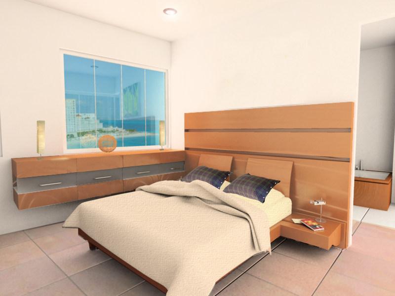interiores residenciales. Ambar Consultores Arquitectos Cancún