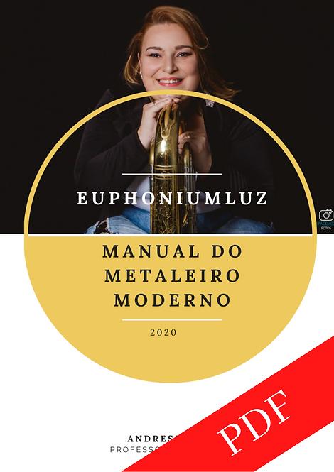 Manual do Metaleiro Moderno por Andressa Luz - Instrumentos Clave de Fá - PDF