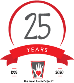 heart touch 25th anniversary logo