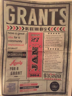 Grants Flyer