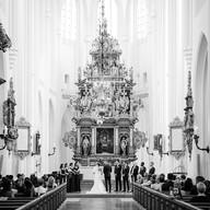 Wedding photo church ceremony | Bröllopsfoto kyrka cermoni