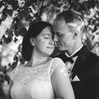 Wedding photo couple portrait | Bröllopsfoto brudpar porträtt