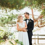 Wedding photo couple portrait tree | Bröllopsfoto brudpar porträtt träd