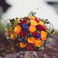 Wedding photo flowers | Bröllopsfoto blommor bukett