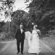 Wedding photo couple portrait   Bröllopsfoto brudpar porträtt