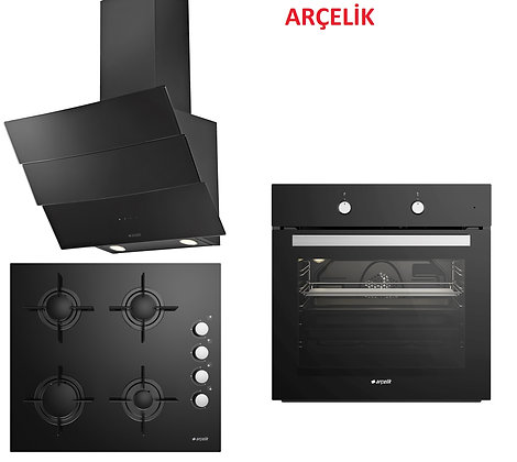 Arçelik Ankastre Set 24 (ARC P12YES-ARC 614EM1(607EM1)-ARC 9621CS)