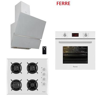 Ferre White Olivia Ankastre Set ( 10001 - B1140 - BFMY )