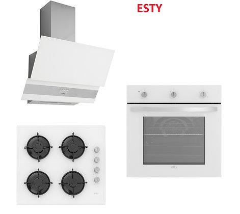 Esty Beyaz Ankastre Set 2 (3420 W-ACO5335W01-AEF6174W01)