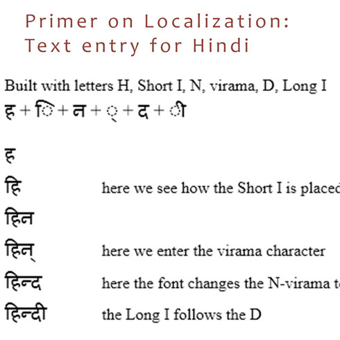 Localization Primer for Hindi