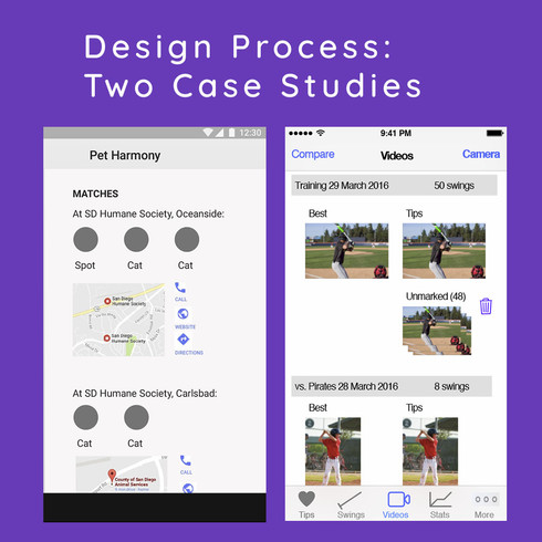More about my design process