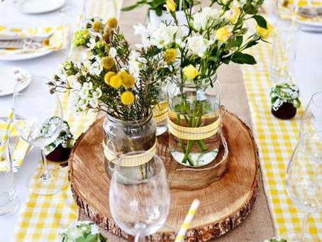 איך לעצב את שולחן החג