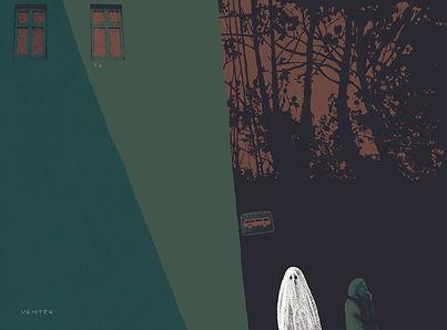 Frida Strømme illustrasjon, Kløpinne, Venter