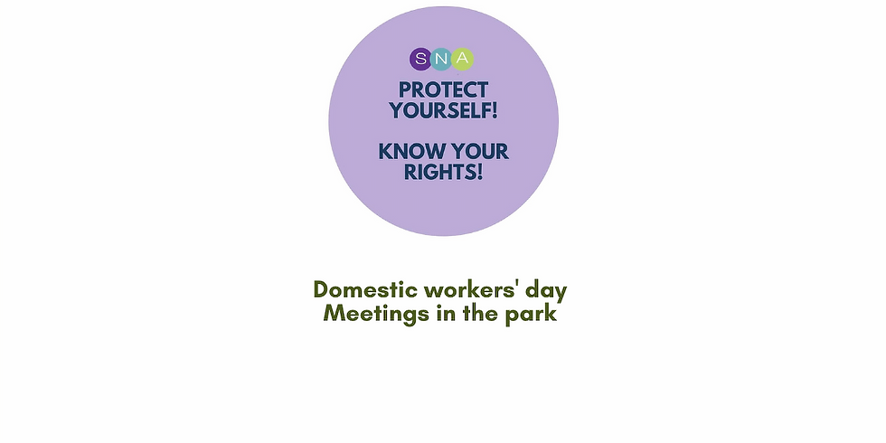 Domestic workers' day 2021