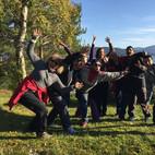 grupo enfermeros españoles en Noruega