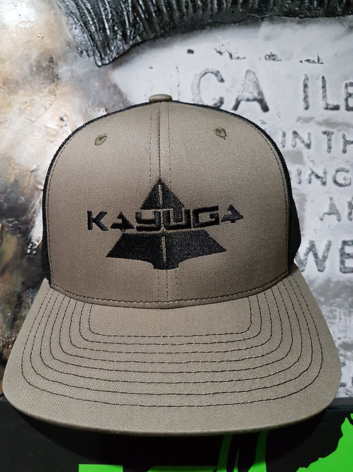 ARMY GREEN TRUCKERS CAP